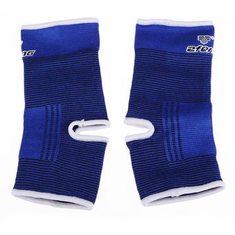 1 Pair Elastic Ankle Foot Brace Compression Supporter Adjustable Wrap Sport - Intl