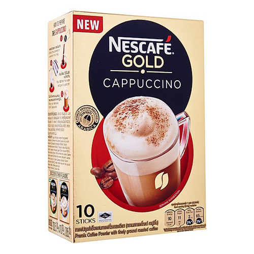 Nescafe Gold Capuchino 10x20.5g