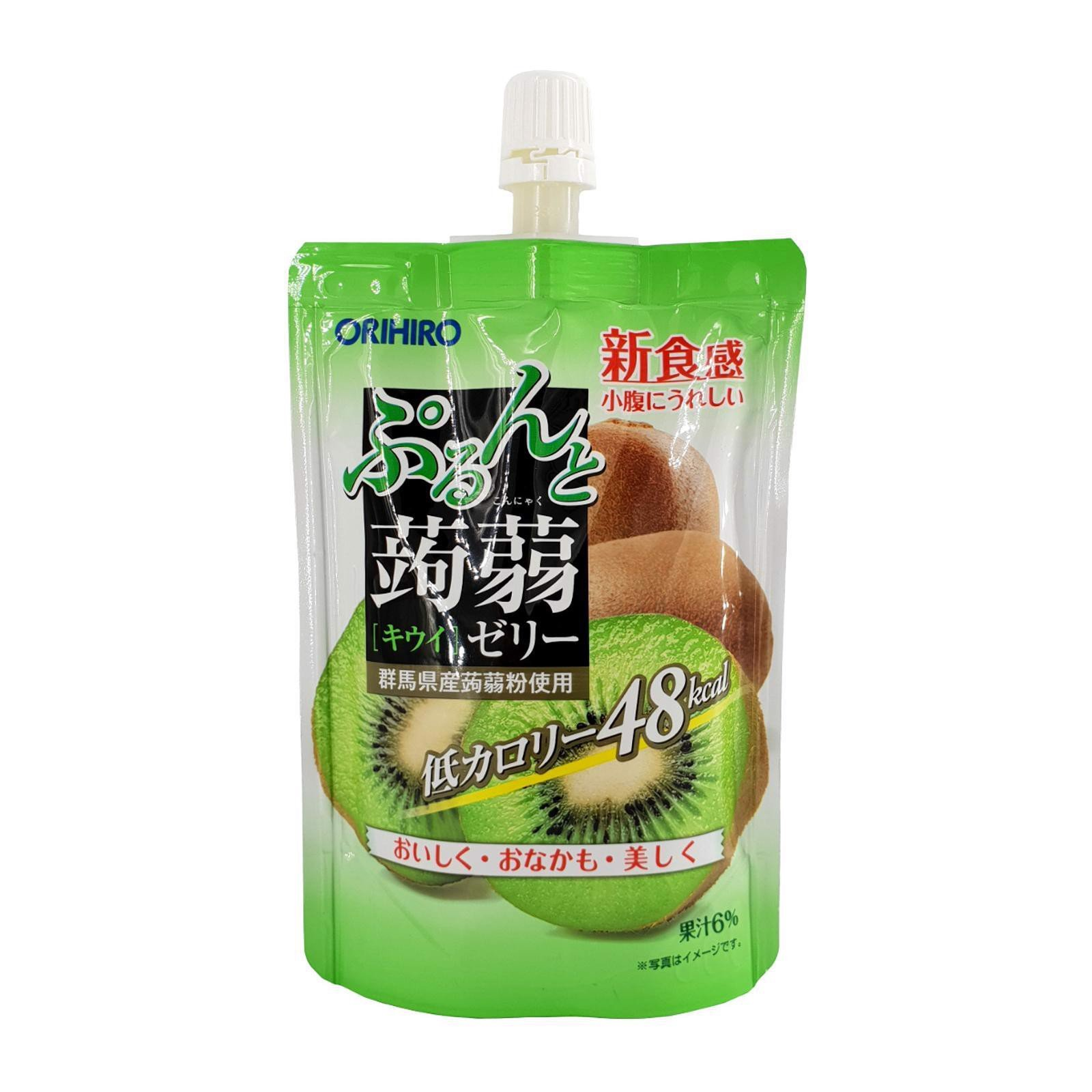 Thạch Kiwi Orihiro Purun and Kiwi jelly 130g