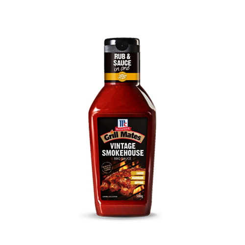 Sốt Vintage Smokehouse BBQ Sauce 500g