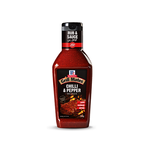 Sốt Chili & Pepper BBQ Sauce 500g