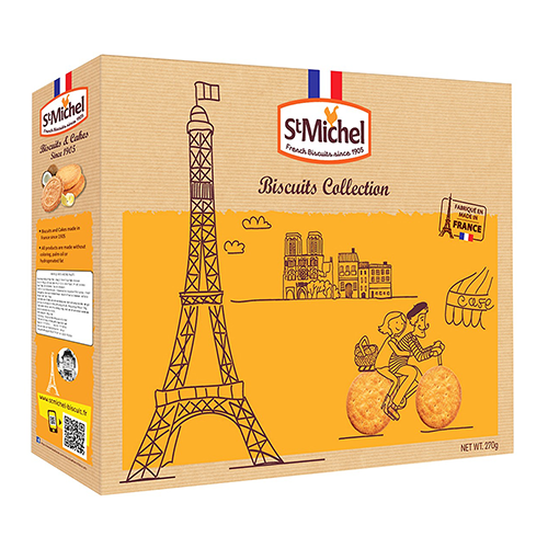 Hộp bánh qui St Michel Biscuits Collection 270g