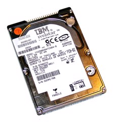 HDD IBM ATA 120GB - 2.5'