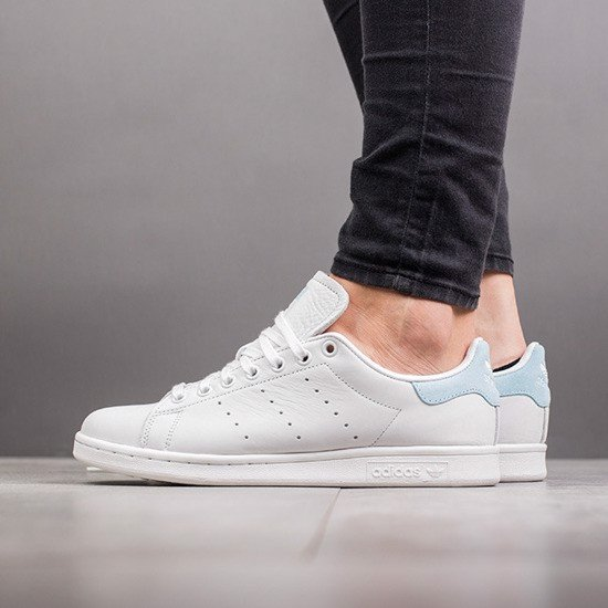 new styles 252cf 758ef [BZ0390] W ADIDAS STAN SMITH ICY BLUE