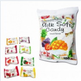 Kẹo Milk Soft Candy Mixed Flavour Thái Lan