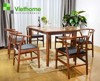 SET  ETTIC  CHAIR & TABLE