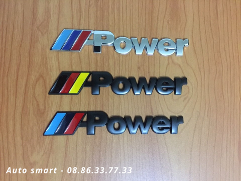 Logo POWER kim loại