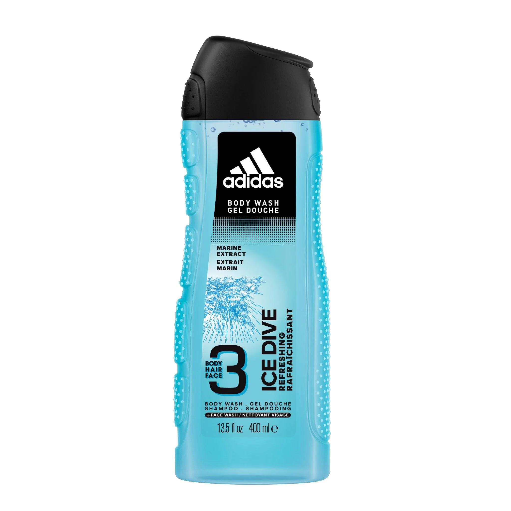 sua tam goi toan than nam adidas ice dive 400ml
