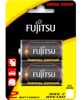 pin fujitsu r14 2b size c carbon zinc battery