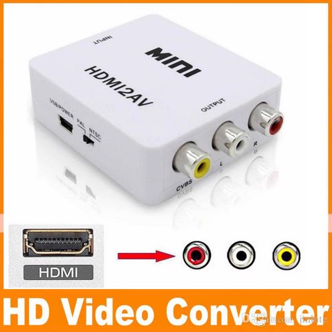 Box convert tín hiệu HDMI to AV cho android tv box, tivi