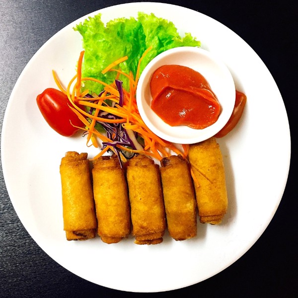 08. Fried spring roll (Chả giò)