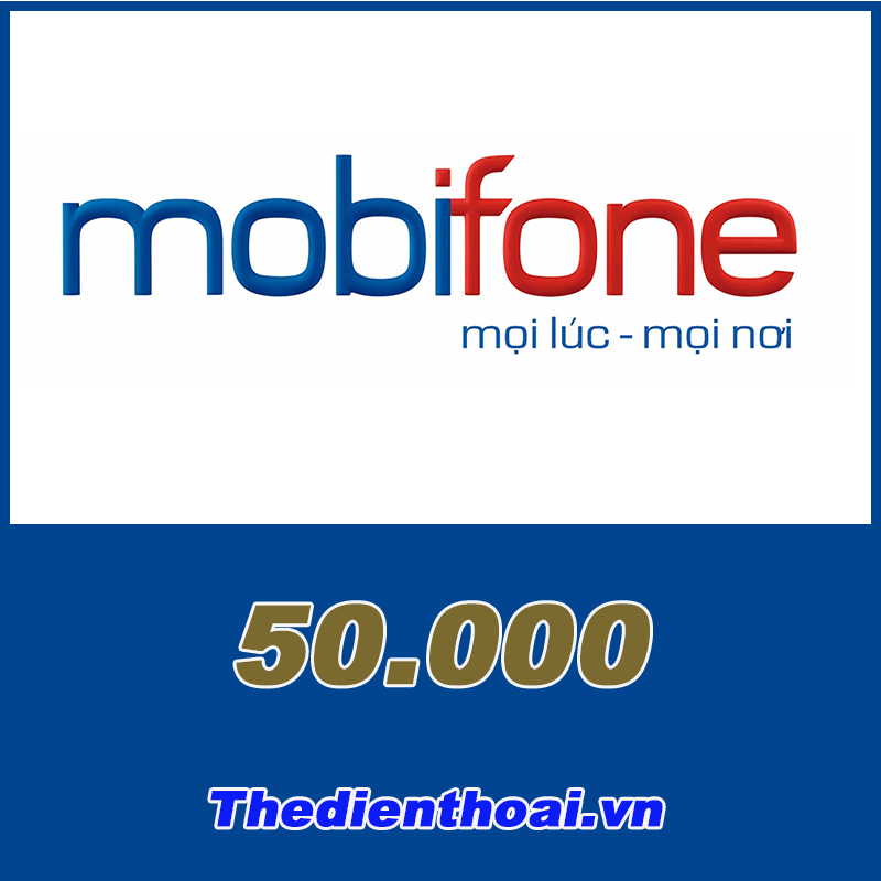 Thẻ mobifone 50.000