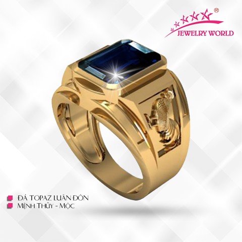 NHẪN DẬU TOPAZ LONDON