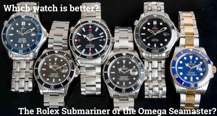 Rolex và Omega