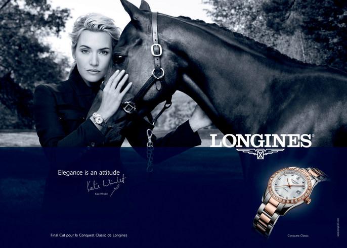 nữ hoàng Longines