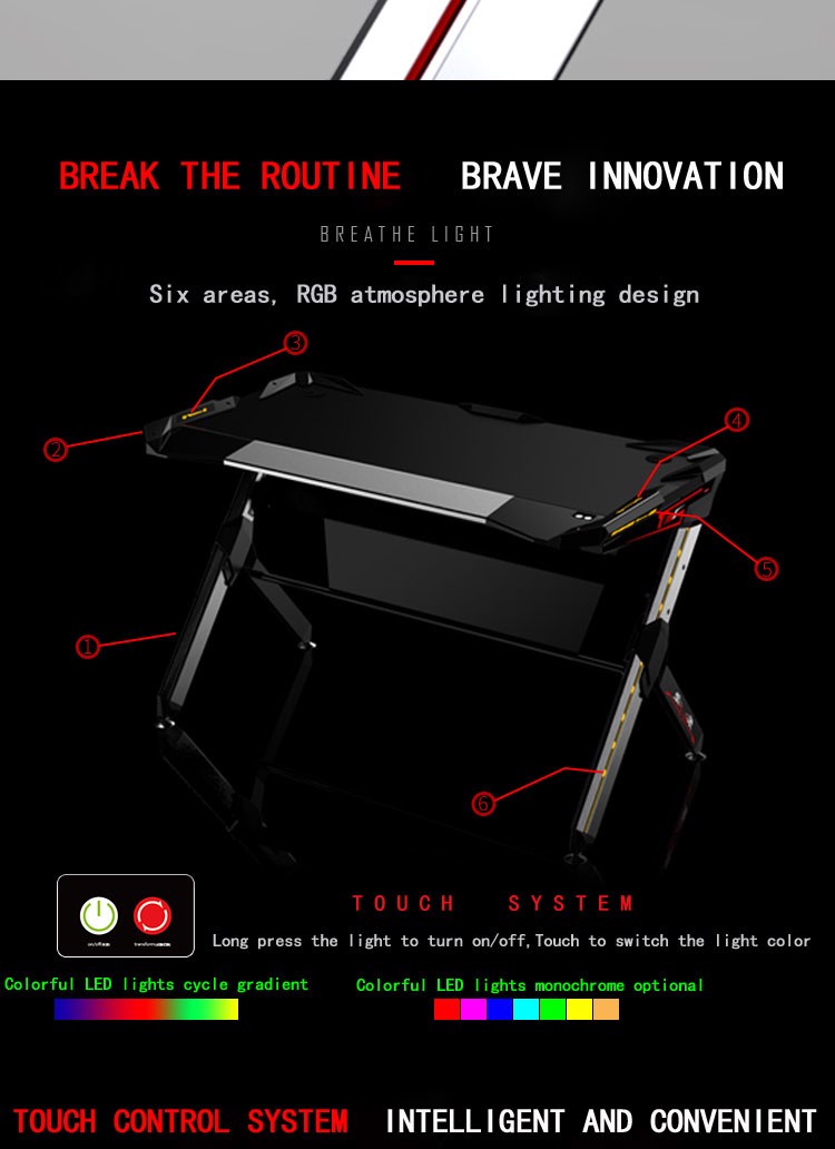 BÀN GAMING DESK R1