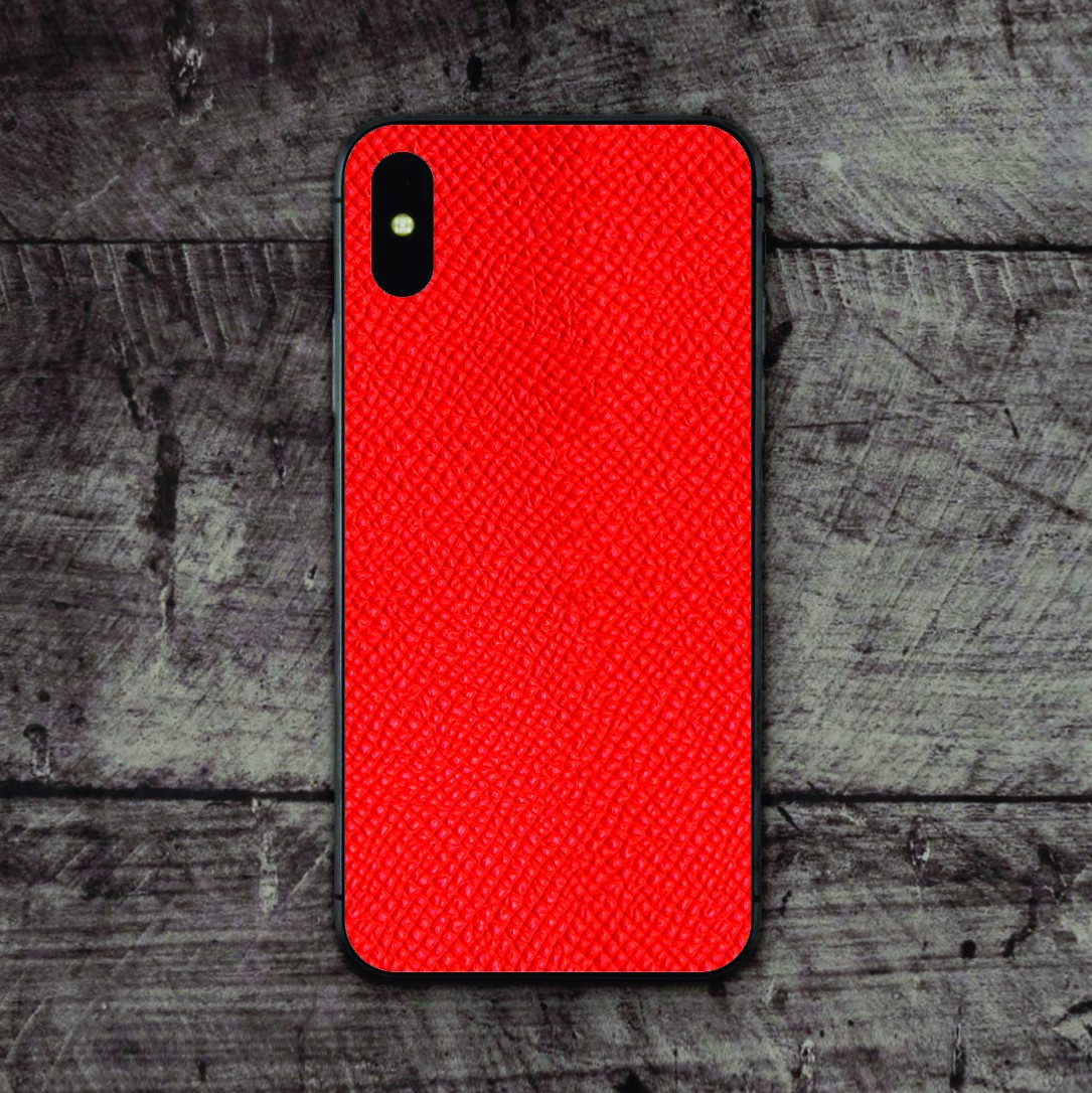 Skin Da Epsom Đỏ IPhone