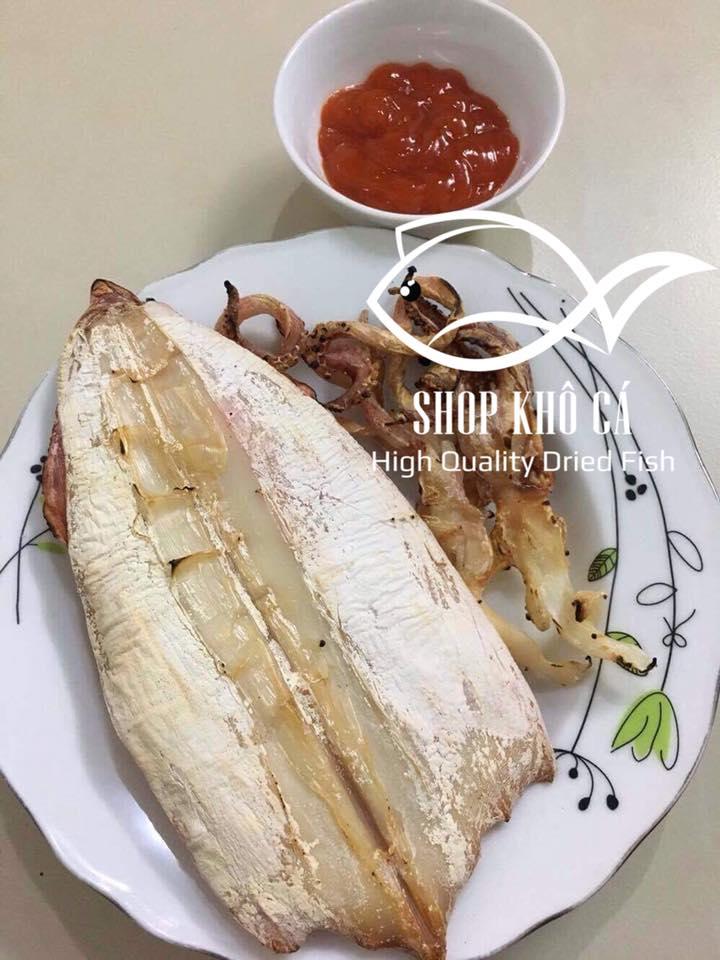 Bán Khô Mực Loại Vừa giá bao nhiêu 1kg? shop khô cá bán khô mực câu ngon, uy tín và chất lượng