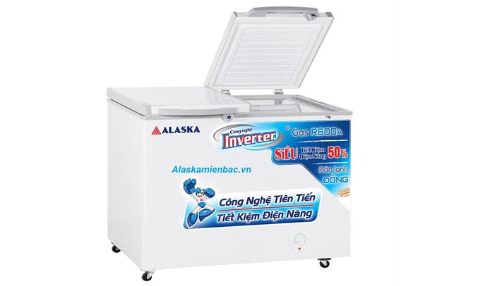 Thực phẩm được bảo quản trong tủ đông Alaska FCA-4600CI luôn giữ được độ tươi ngon