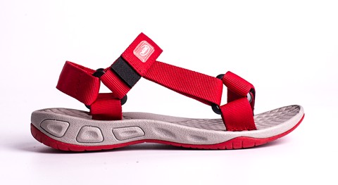 Vento Sand Sandals Red