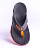 Vento Slipper Grey & Orange