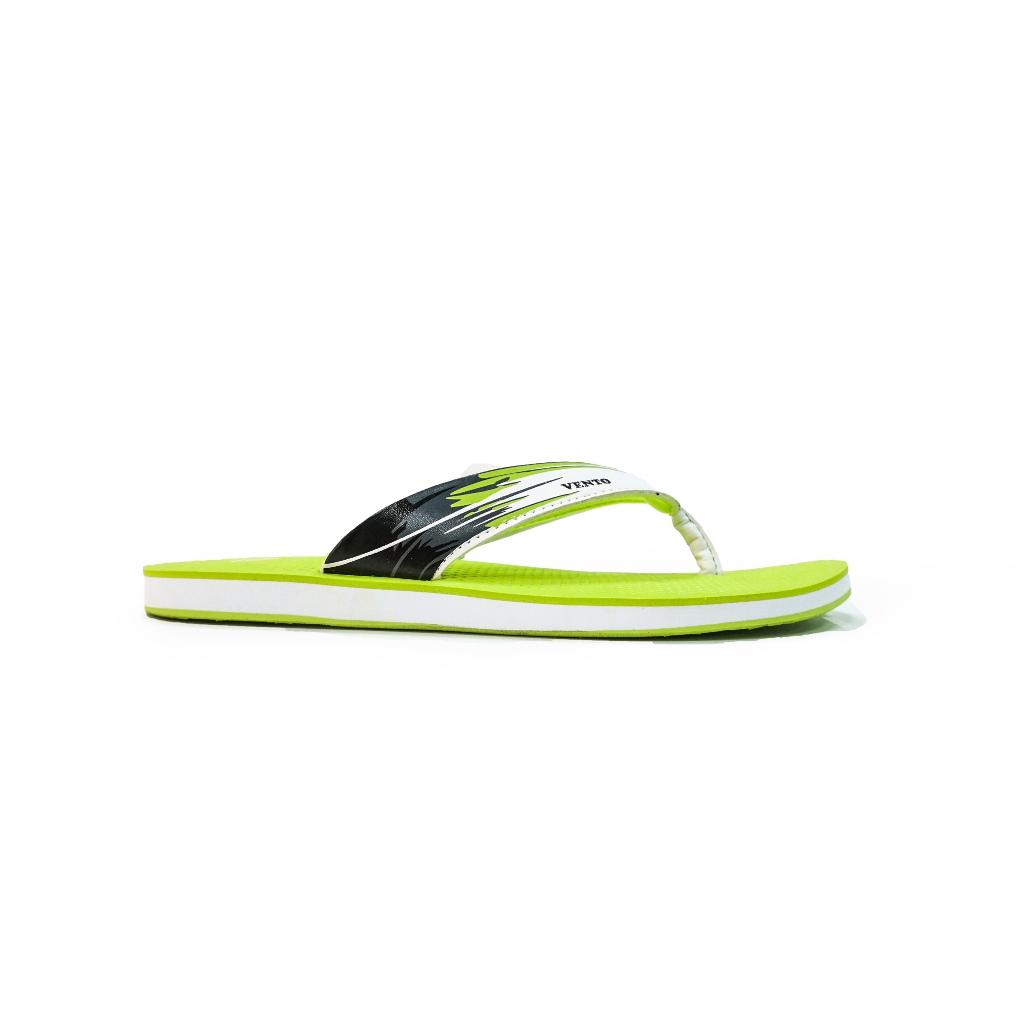 Vento Flip-Flop Slippers Green