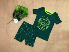 Đồ bộ Old Navy baby boy [Pattern] - Dark Green