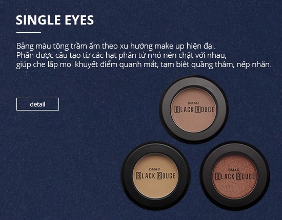 Phấn mắt Black Rouge Single Eyes