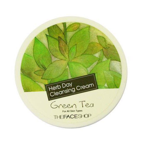 [TheFaceShop] Kem Tẩy Trang TheFaceShop Herb Day Cleansing Cream Green Tea