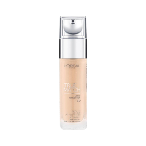 [ L'Oreal ]Kem nền L'Oreal True Match Liquid Foundation #F2 Rose Porcelain