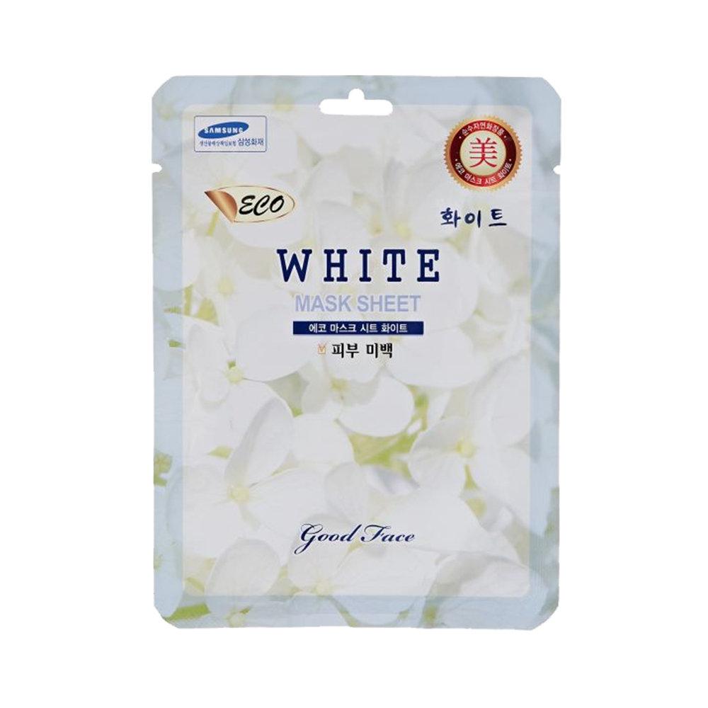 [Eco] Mặt nạ Trắng da- Eco White Mask Sheet