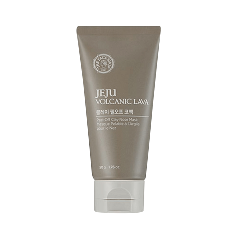 [ The Face Shop ] Gel Lột Mụn Jeju Volcanic Lava Peel-off Clay Nose Mask - 50g