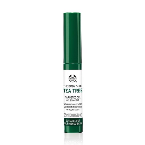 [ The Body Shop] Gel chống mụn  The body shop tea tree targeted gel 2.5ml