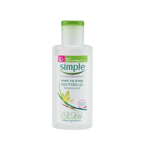 [ Simple] Nước Tẩy Trang Mắt Môi Simple Kind To Eyes Eye Make-up Remover (125ml)