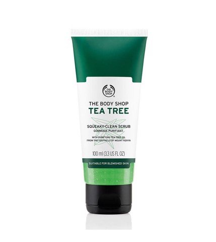 [The Body Shop] Tẩy da chết The Body Shop Tea Tree Squeaky Clean Scrub 100ml