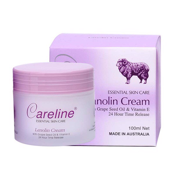 Kem nhau thai Cừu Careline Lanolin Cream