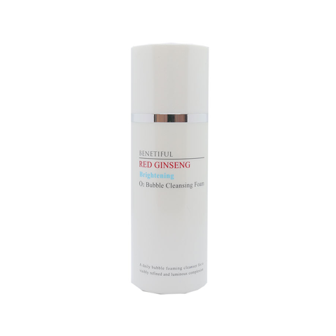 BENETIFUL Red Ginseng Brightening O2 Bubble Cleansing Foam