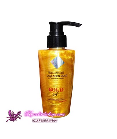 Gel lột dát vàng Collagen Gold 24k