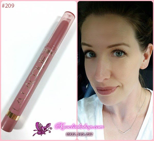 Son Loreal Colour Riche La Lacque #209 Choco-Lacque