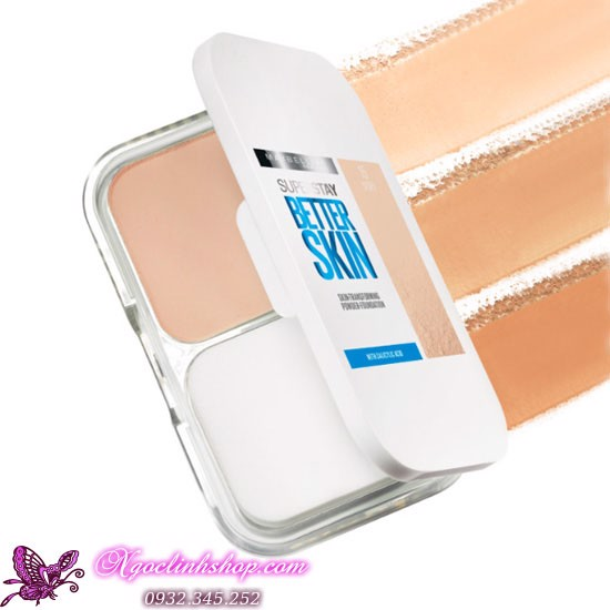 Phấn phủ Maybelline Superstay Better Skin Powder