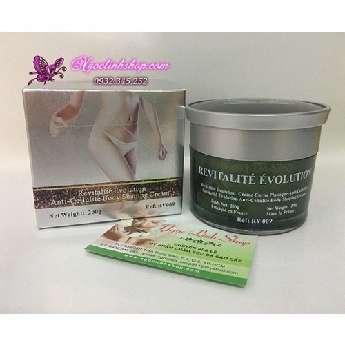 Kem massage tan mỡ toàn thân REVITALITE BODY SHAPING CREAM