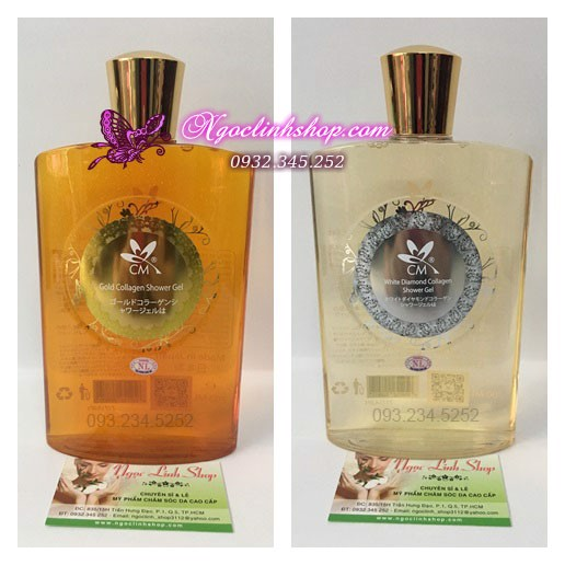 Sữa tắm CM Gold Collagen - Diamond Collagen Shower Gel - 700ml