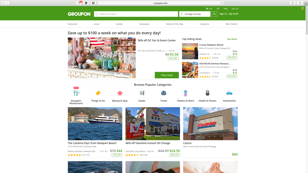 Groupon####https://www.groupon.com