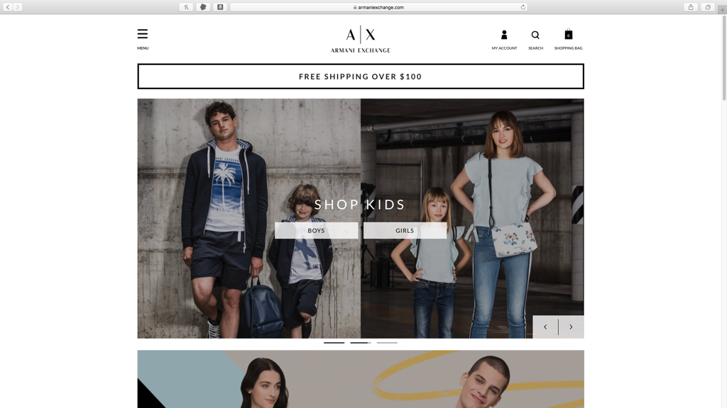 Armani Exchange####https://www.armaniexchange.com/us