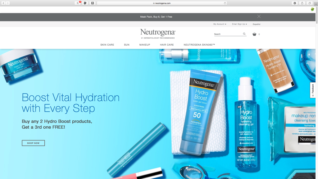 Neutrogena####https://www.neutrogena.com