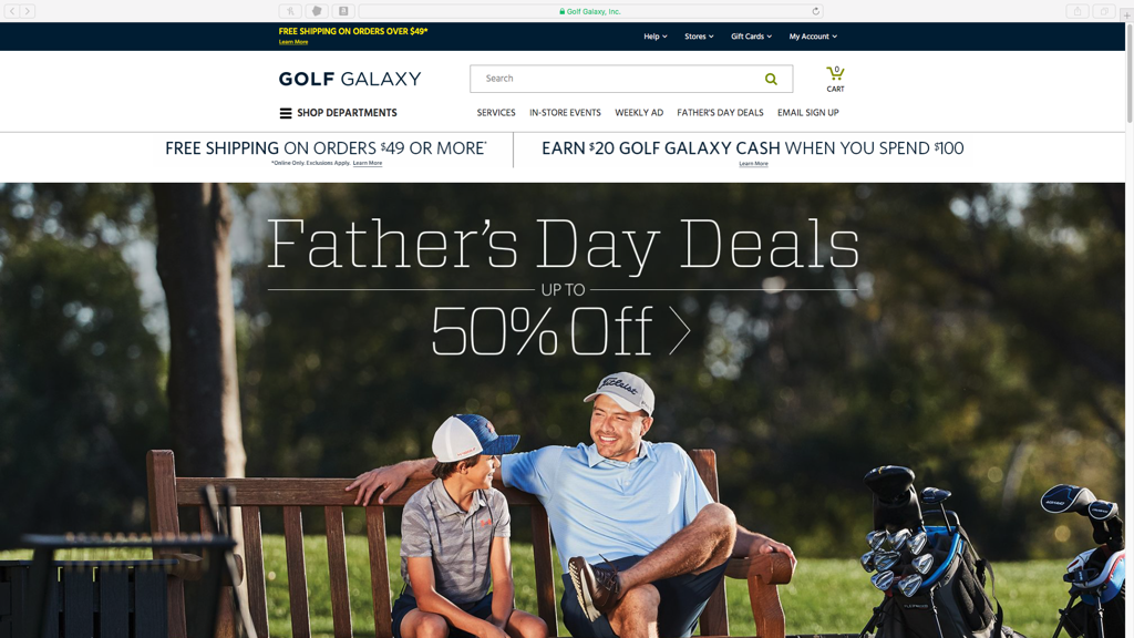 Golf Galaxy####https://www.golfgalaxy.com