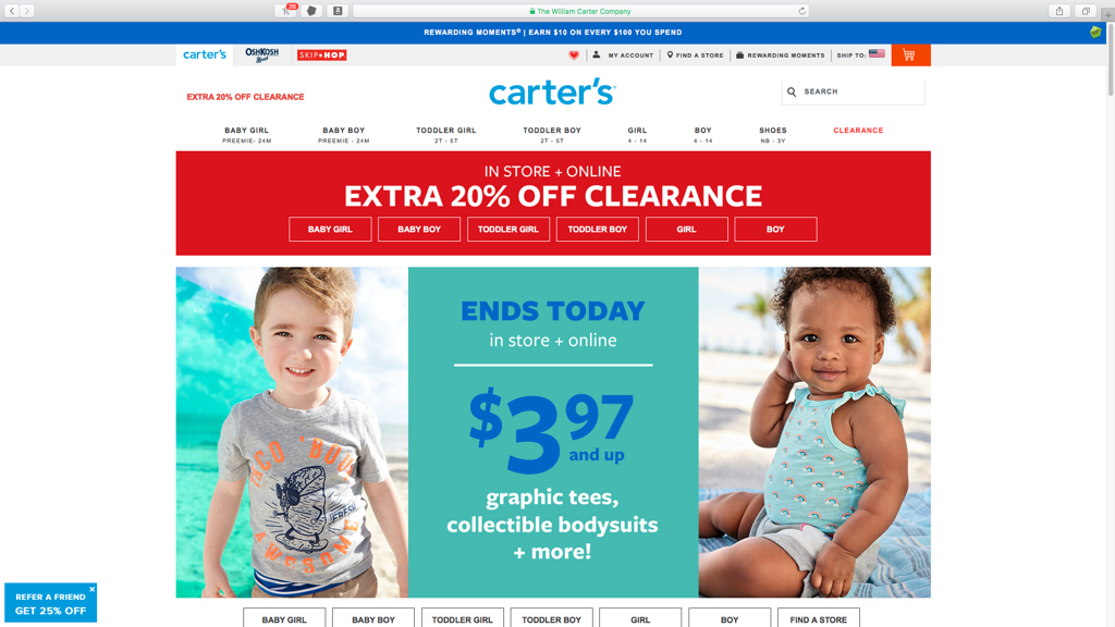 Carter's####https://www.carters.com