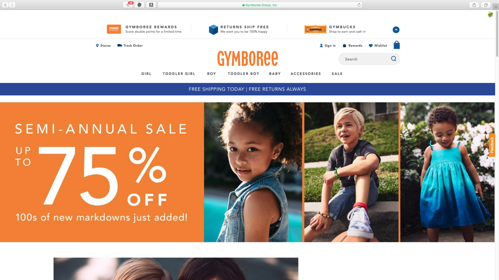Gymboree####https://www.gymboree.com