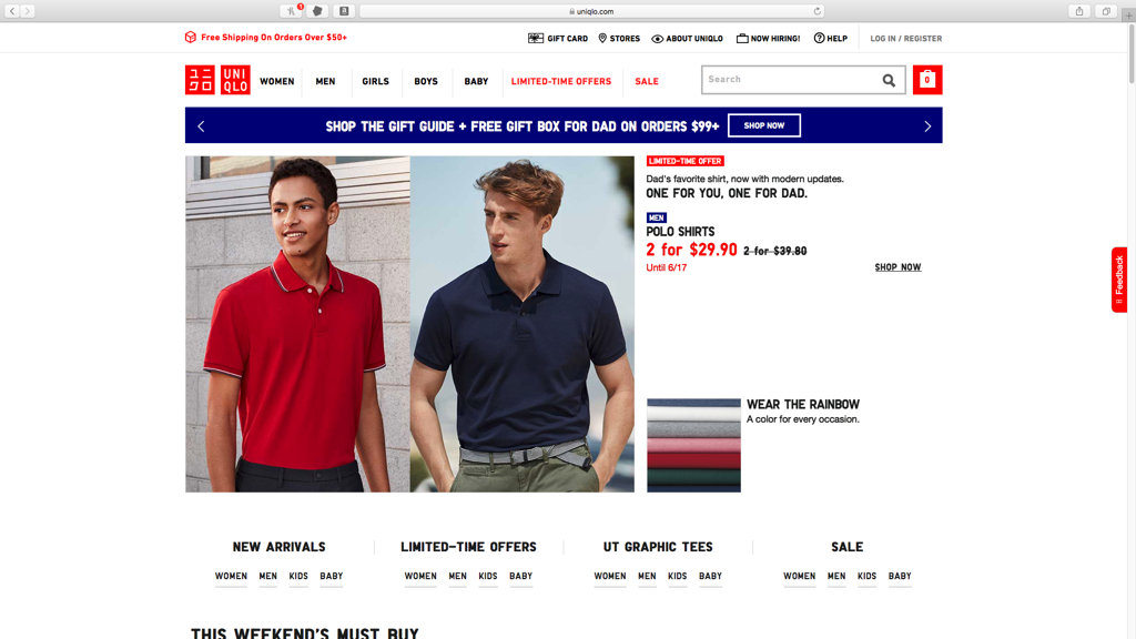 Uniqlo####https://www.uniqlo.com/us/en/home/