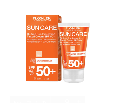 Kem chống nắng Sun protection Tinted Cream SPF 50